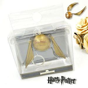 🎁 Harry Potter Golden Snitch Dangle Keychain 💫